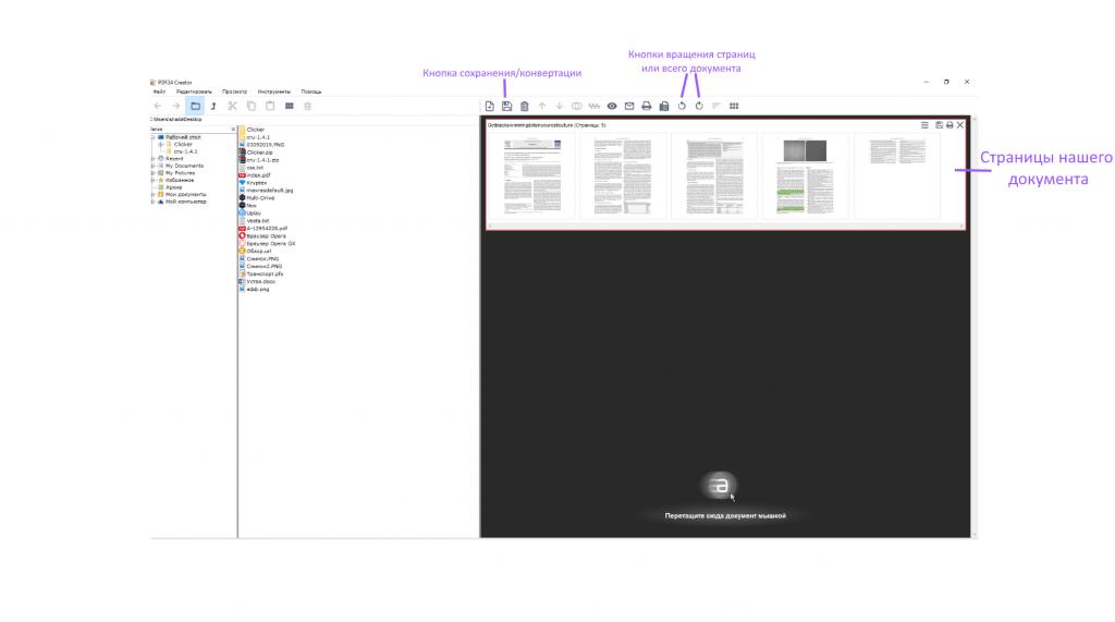 Конвертация PDF в JPEG PDF24