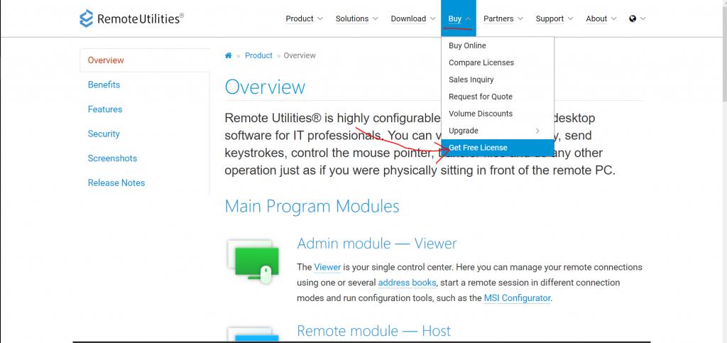 Бесплатные системы для удаленного доступа и управления ПК - Remote Utilities